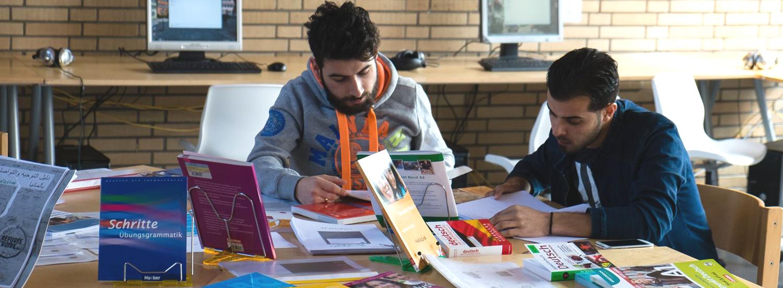 Deutsch lernen - Helferkreis Flüchtlinge Dinkelsbühl