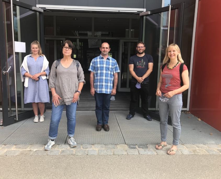 Bild des neuen Mediathek Teams